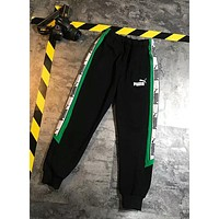 PUMA Fashion Women Print Sport Stretch Pants Trousers Sweatpants I-XMCP-YC