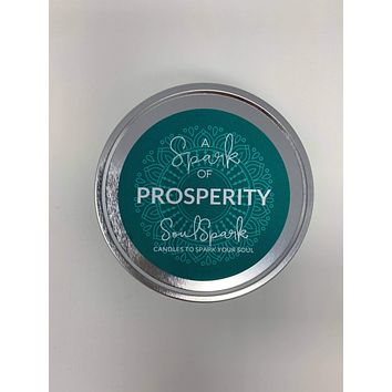 A Spark of Prosperity Candle