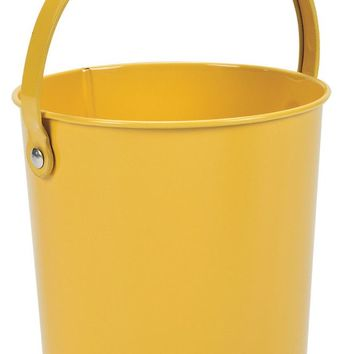 yellow metal pails Case of 42