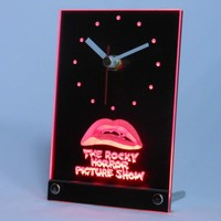 The Rocky Horror Picture Show Table Desk 3D LED Clock
