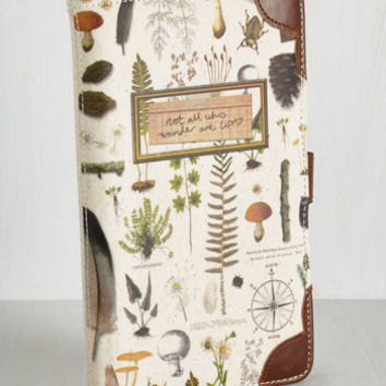 Rustic Environmental Expedition Travel Wallet by Disaster Designs from ModCloth