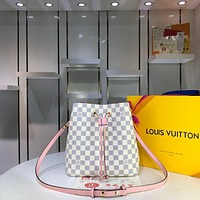 LV Louis Vuitton MONOGRAM CANVAS NEONOE INCLINED SHOULDER BAG