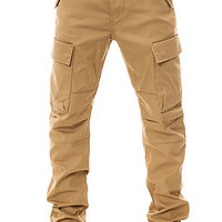 The Commuter Cargo Pants in Harvest Gold