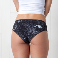 Glow in the Dark Solar System Underwear Womens