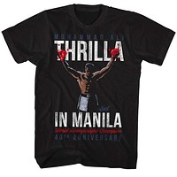 Mens Muhammad Ali Thrilla in Manilla Tee Shirt
