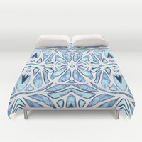 Blue Hue Duvet Cover by ArtLovePassion