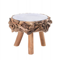 Delightful Wood Stool Or Table