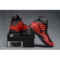 Air Foamposite Pro Red/Black Sneaker Size 40--47