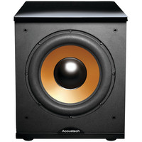 """Bic America 12"""" Front-firing Powered Subwoofer With Black Lacquer Top"""