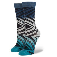 Stance | Taos Remix Navy socks | Buy at the Official website Main Website.
