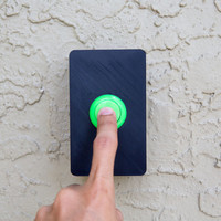 Arcade Button Door Bell