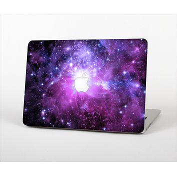 """The Purple Space Neon Explosion Skin Set for the Apple MacBook Pro 15"""""""