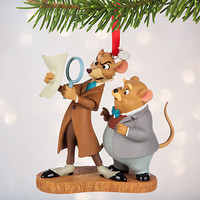 Basil and Dawson Sketchbook Ornament - The Great Mouse Detective - Personalizable | Disney Store