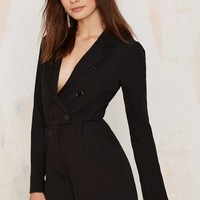 Blazer of Glory Tux Romper