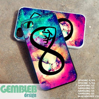 browning infinity love deer nebula 2 - iPhone 4/4s/5/5c/5s Case - Samsung Galaxy S2/S3/S4 - Blackberry z10 - iPod 4/5 Case - Black or White