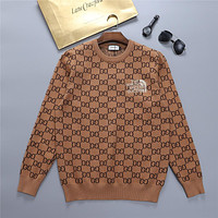 GUCCI GG Womens Knitted Double G Sweater-1
