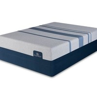 "iComfort Blue Max Touch 3000 14"" Elite Plush Memory Foam Mattress"