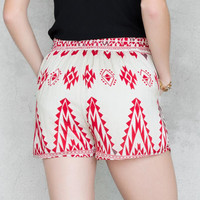 Caborca Printed Shorts