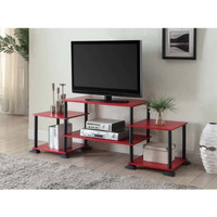 "Entertainment Center TV Stand Console up to 40"" Display Organizer"