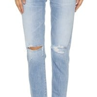 Liya High Rise Classic Fit Jeans