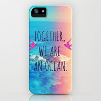 Ocean Lomo iPhone Case by Sabine Doberer | Society6