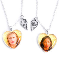 CLUELESS FRIENDSHIP NECKLACES