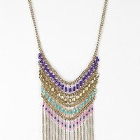 Nirvana Beaded Bib Necklace