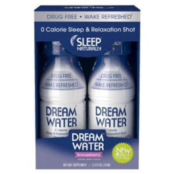 Dream® Water Sleep Naturally Sleeping Aid - Snoozeberry (4 Pack)