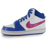 Nike Backboard High Junior Girls Hi Top Trainers - SportsDirect.com