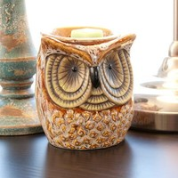 Scentsationsals Full-Size Wax Warmer, Spotted Owl - Walmart.com