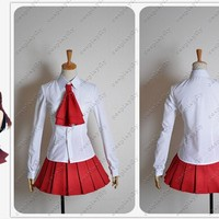 IB Mary and Garry Game Mary Cosplay Costume Top Dress Skirt Women Uniform Clothing Outfit For Adult