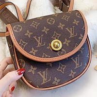LV Louis Vuitton New fashion monogram leather shoulder bag women crossbody bag