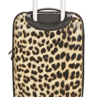 """F191-LEOPARD 20"""" Polycarbonate Carry On  Luggage Set"""