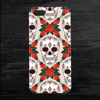Skull Sugar Flower Candy iPhone 4 and 5 Case