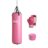 Walmart: Everlast 70 lb Women's Heavy Bag Kit