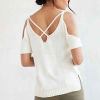 Ecote High Tide Cold Shoulder Sweater