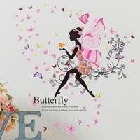Old Passenger _Personality Fairies Girl Butterfly