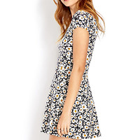 Field of Daisies Skater Dress