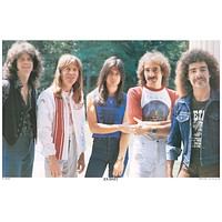 Journey Steve Perry Band Portrait Poster 11x17