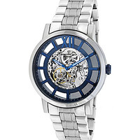 Kenneth Cole New York Millerton Brushed Stainless Steel Automatic Watc