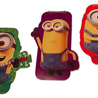 Minions Shaped Spiral Notebook with Lined Paper (3pk)