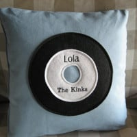They're Playing Our Song Pillow by FelixStreetStudio on Etsy