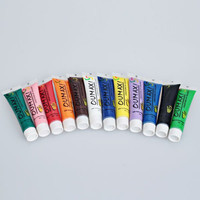 Oumaxi 12 Colors Acrylic Nail Paints for 3D Nail Art Drawings
