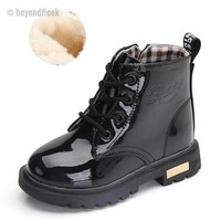 Martin Ankle Boots Black
