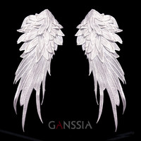 Embroidered Angel Wings Patches