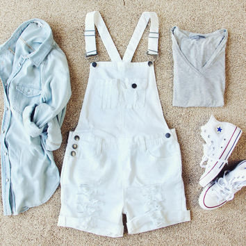 Maggie Distressed Overalls