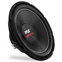 """10"""" Car Audio Speaker Subwoofer - 1000 Watt High Power Bass Surround Sound Stereo Subwoofer Speaker System - Non Press Paper Cone, 90 dB, 4 Ohm, 50 oz Magnet, 2 Inch 4 Layer Voice Coil - Pyle PLPW10D 10-Inch 1000 Watts 2-inch Single Voice coil 4-ohm"""
