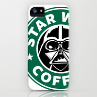 Star Wars Coffee iPhone & iPod Case by Royal Bros Art
