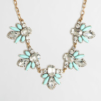 Factory stone accent necklace