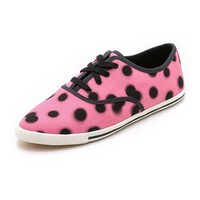Marc by Marc Jacobs Slim Kicks Lace Up Sneakers